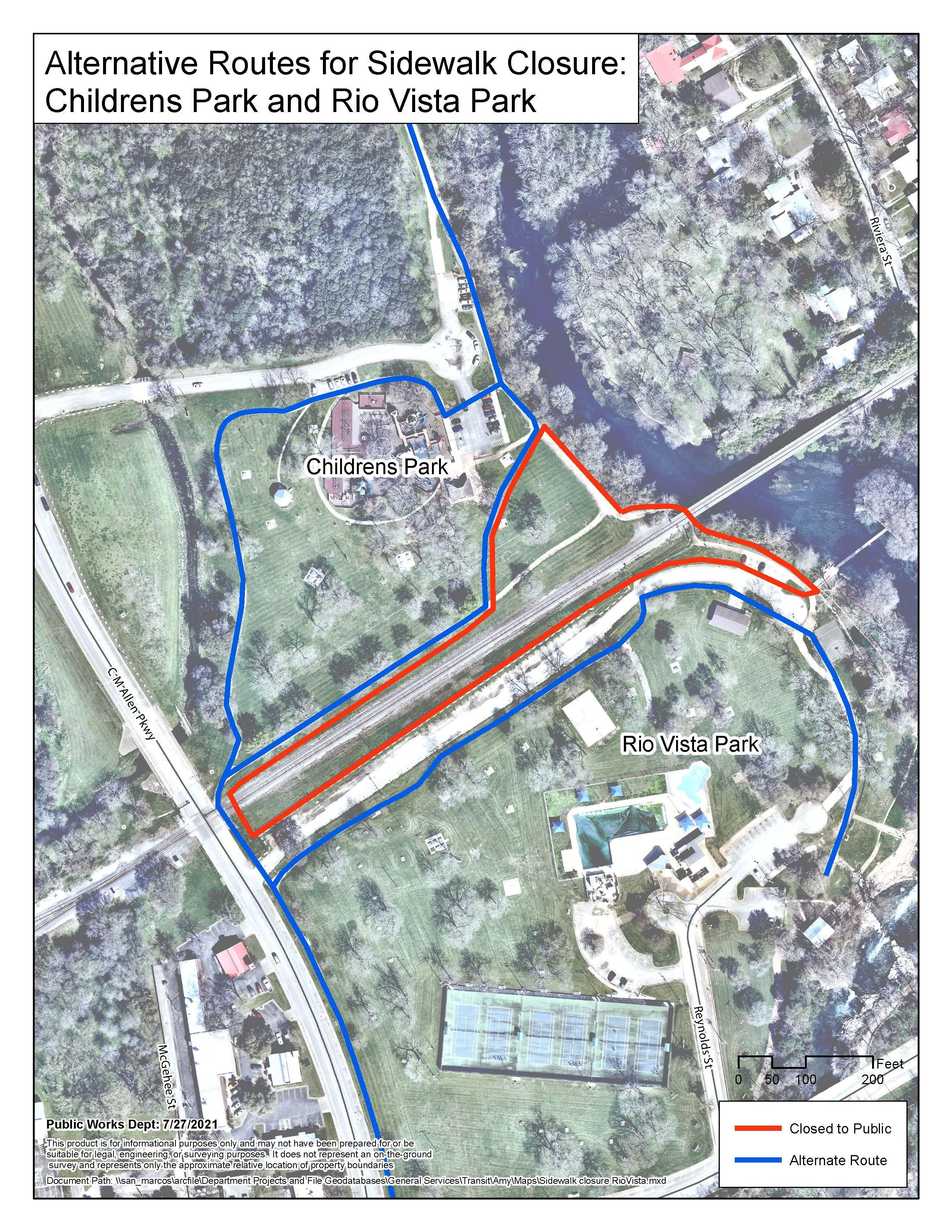 Construction on final section of Shared Use Pathway Project begins Wednesday