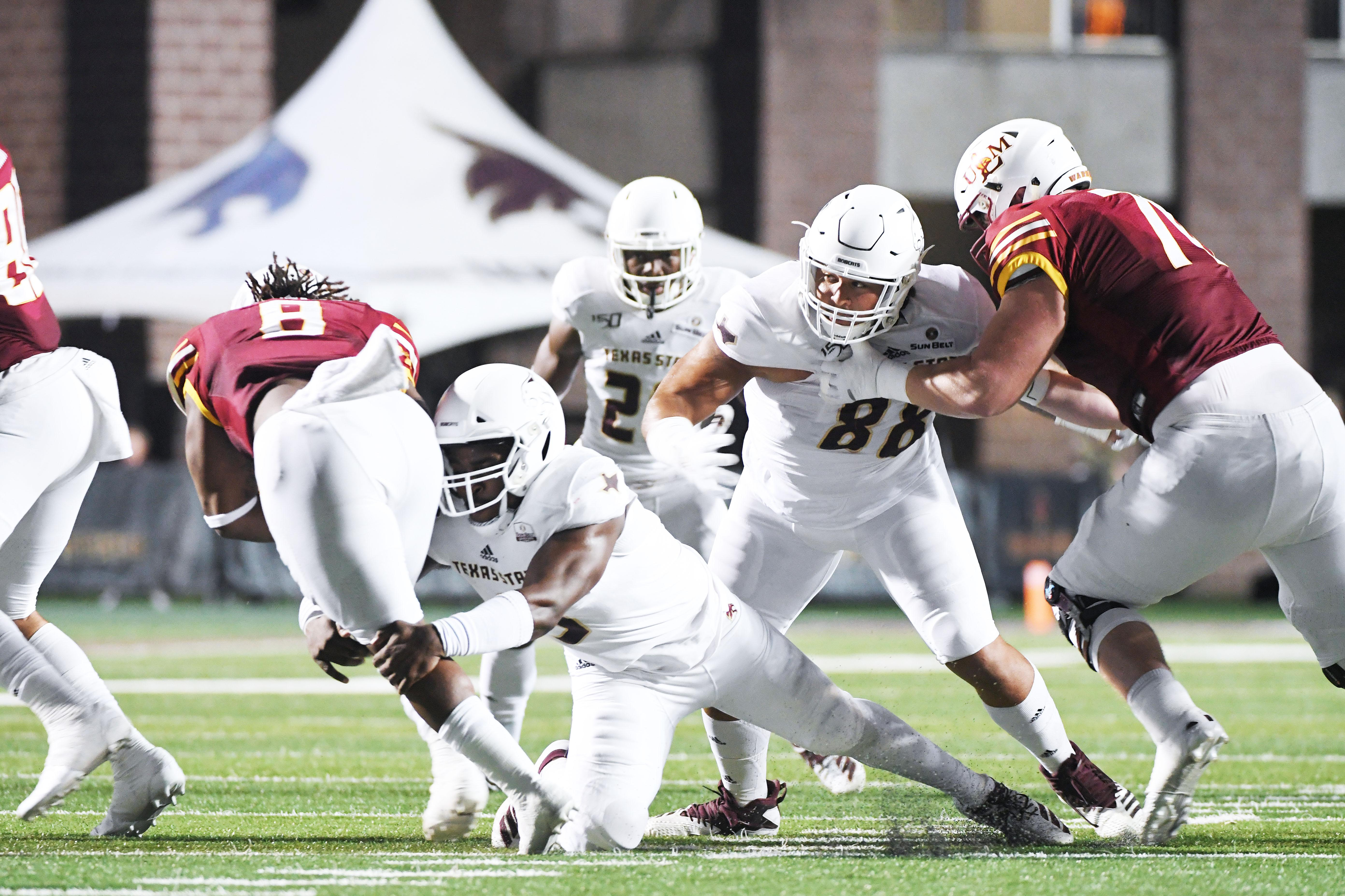 Costly Mistakes Lead To 24 14 Texas State Loss Against Ulm San Marcos Record