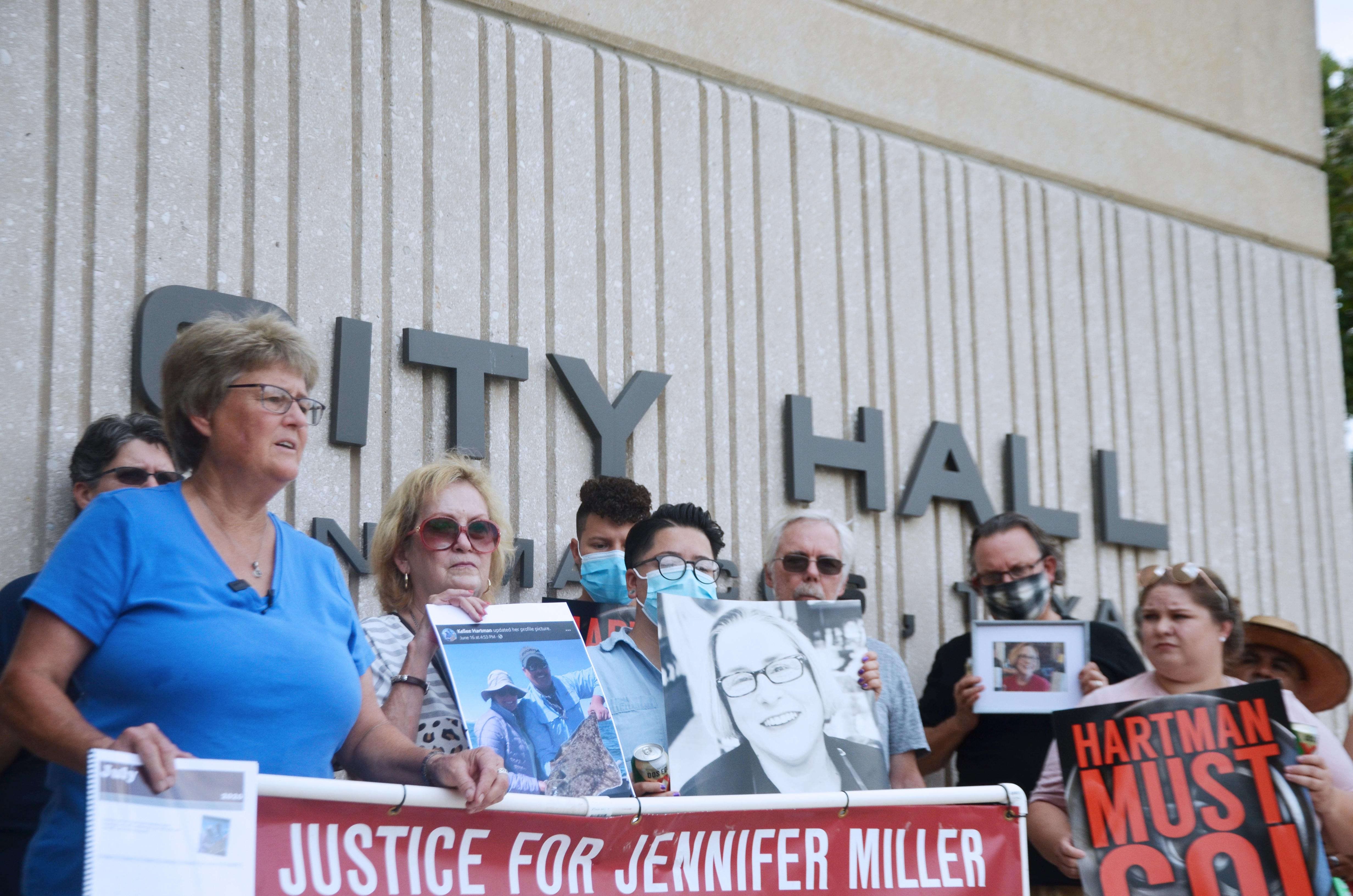 Justice for Jennifer pleas continue as friends, family protest Wednesday