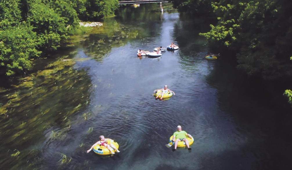 Tubing talks float to city council
