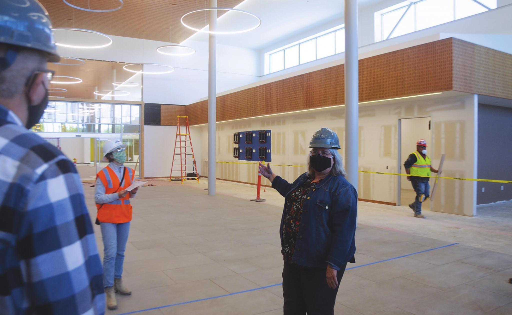 San Marcos Public Library prepares to move into newly expanded building