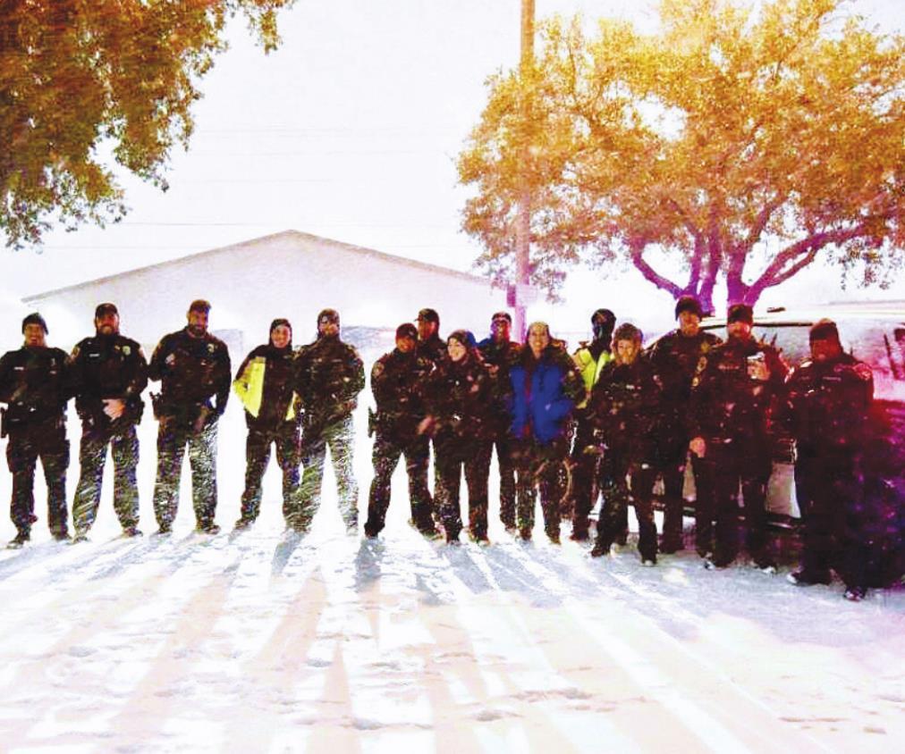 San Marcans revel in snow