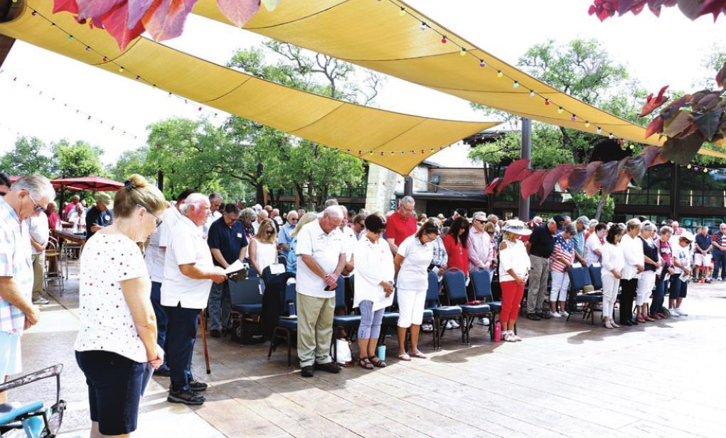 Fourth annual Memorial Day ceremony hosted at Kissing Tree