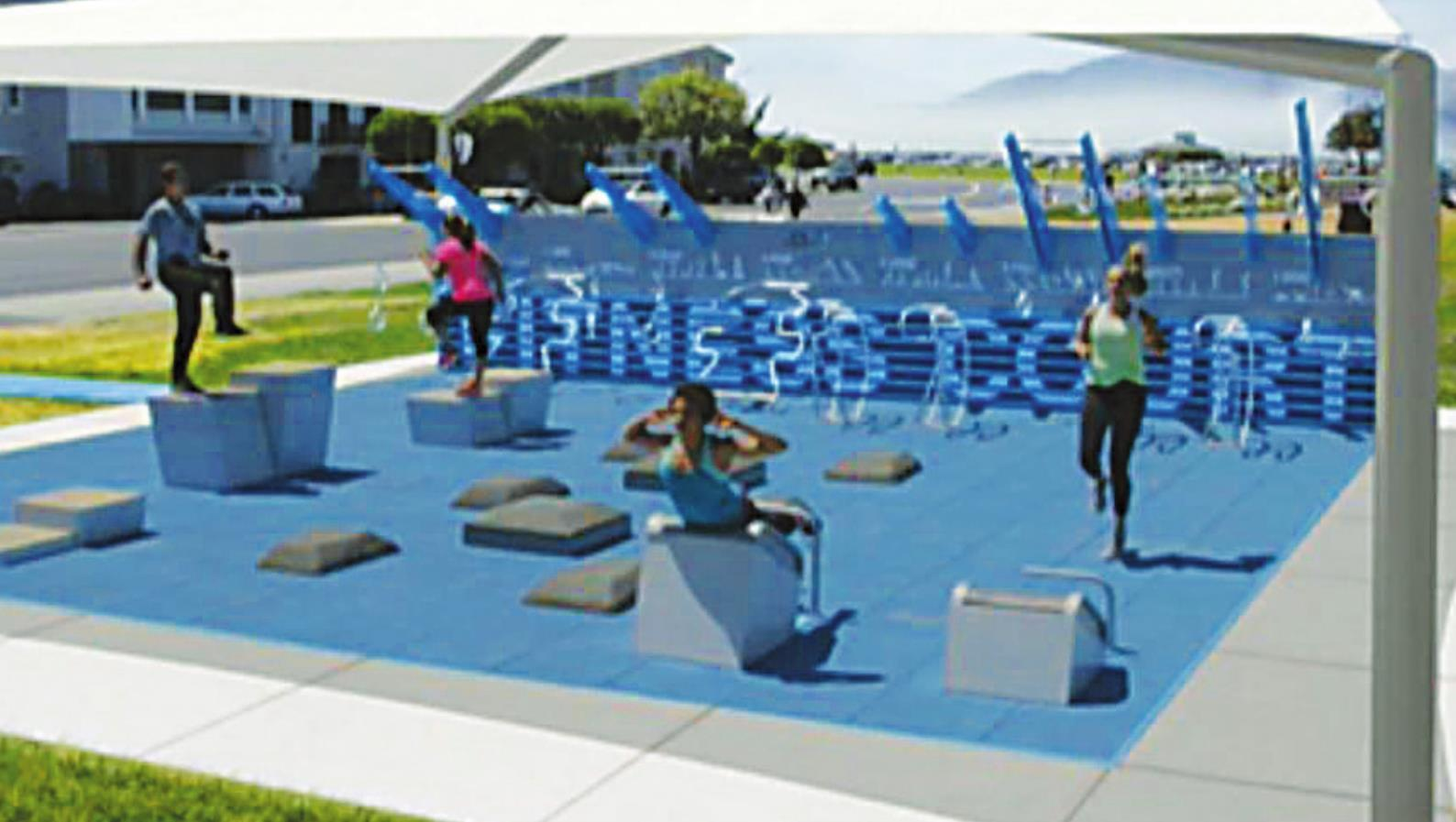 City of Kyle receives $25,000 grant toward an outdoor fitness court