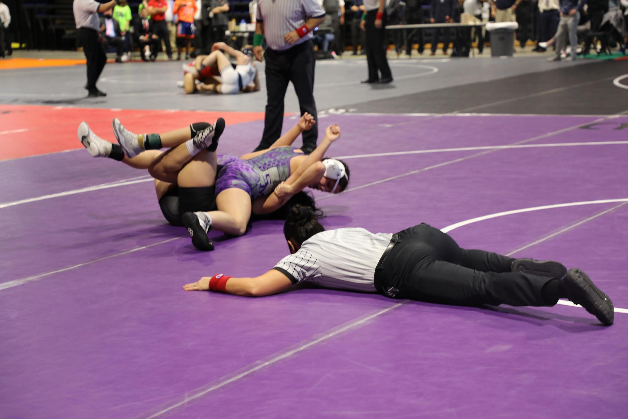 Gianna Moreno, State Champion, Wrestling, San Marcos, SMHS, San Marcos News, San Marcos Record