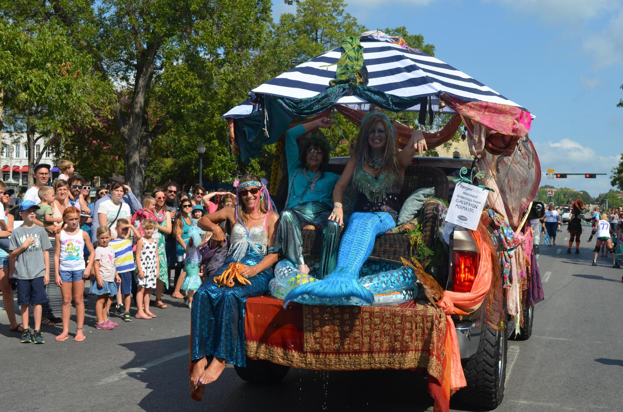 Mermaid Society SMTX's Mermaid Promenade and Downtown Street Faire set for Sept. 25