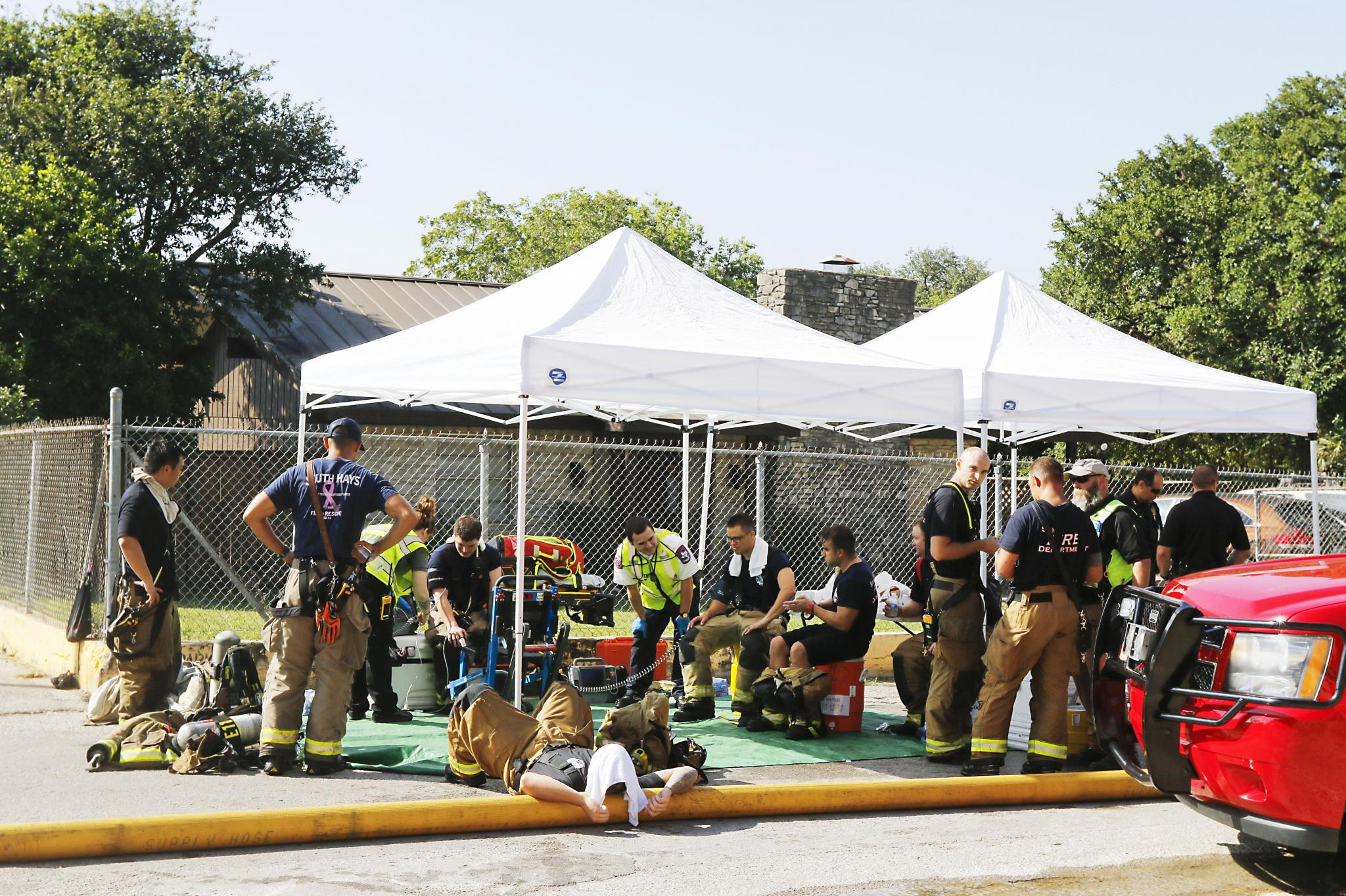 San Marcos firefighters, dispatch recall Iconic Village fire
