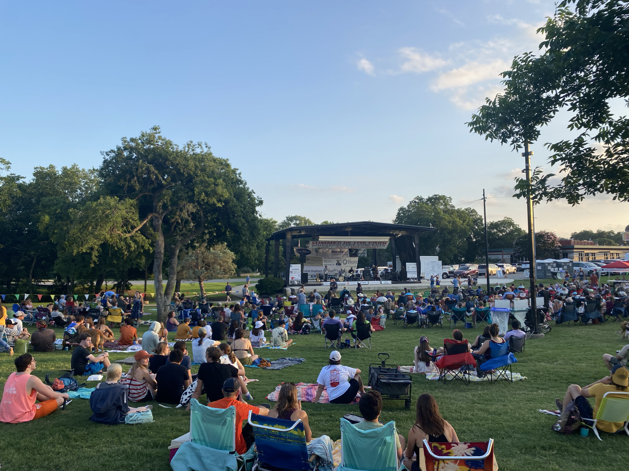 Summer in the Park, Movies in Your Park continue