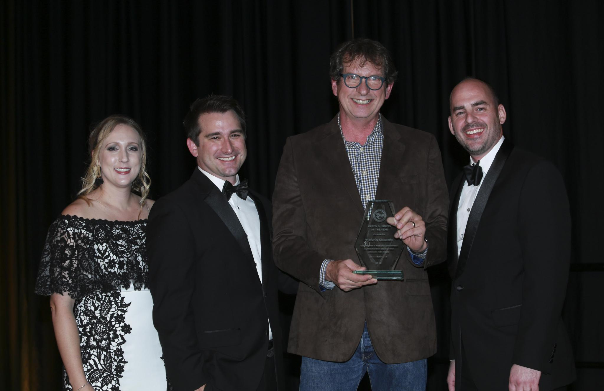 Wimberley Glassworks received the Green Business of the Year.