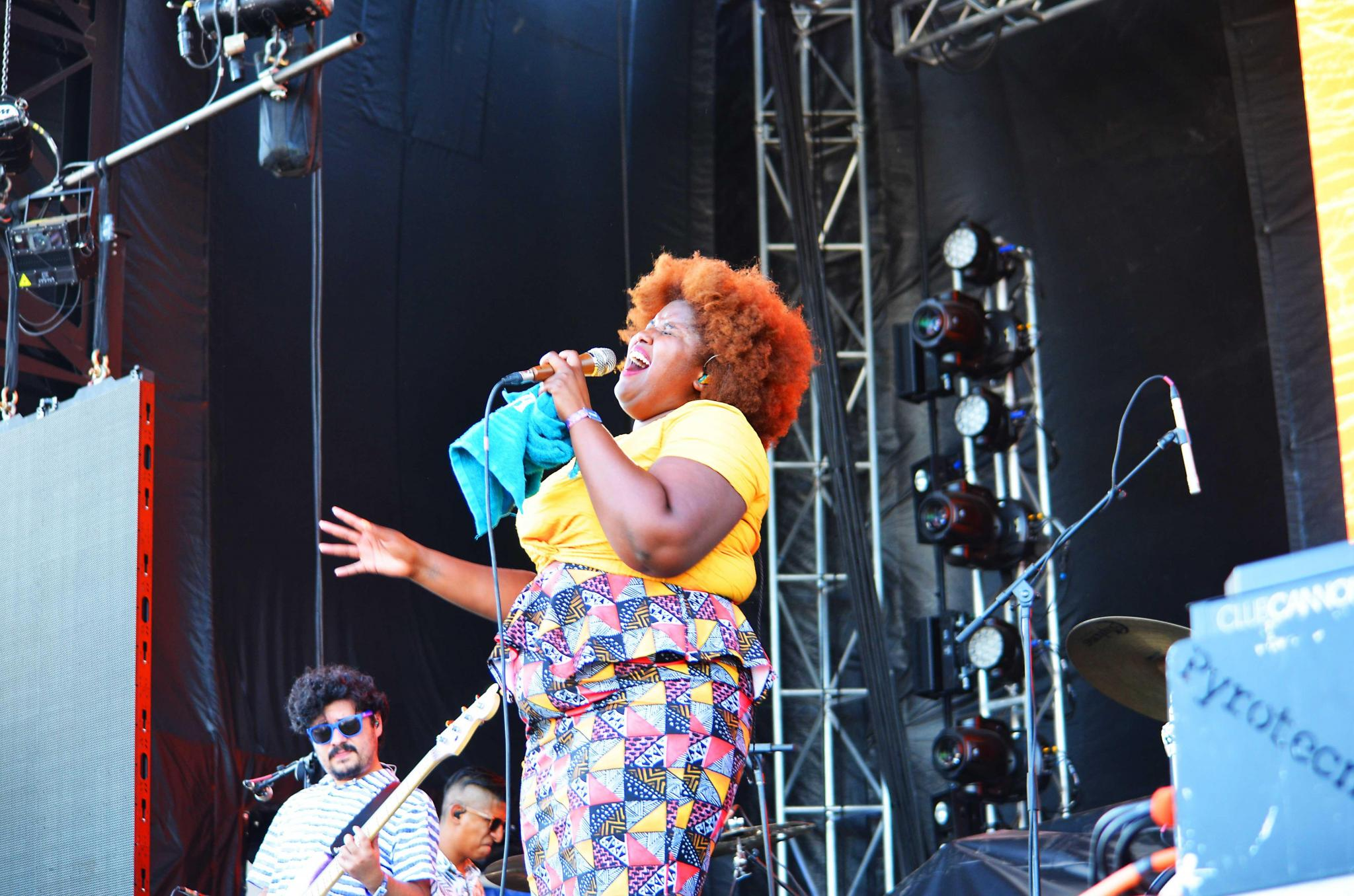 The Suffers - Kam Franklin - 2018 Float Festival San Marcos, TX. Photo by Toy Mendez
