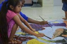centro cultural de hispano, san marcos, colton ashabranner, painting, artspace, camp ole