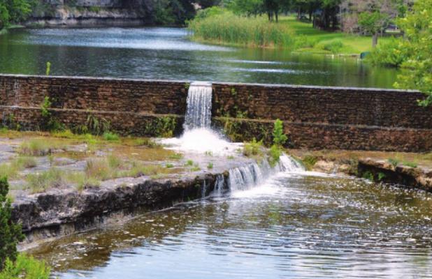 Rain helps spring flow, aquifers still low