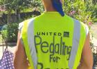 Pedaling for Peace