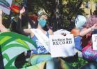 Mermaid promenade, street faire takeover downtown San Marcos