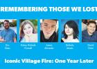 iconic village fire victims